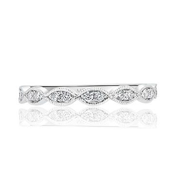 Milgrain Marquise Diamond Band