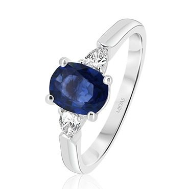 Oval Sapphire Pear Trilogy