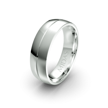 QF1007 Men's Wedding Band