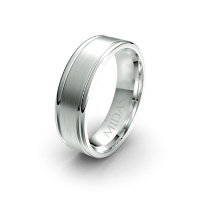 QF1036 Men's Wedding Band