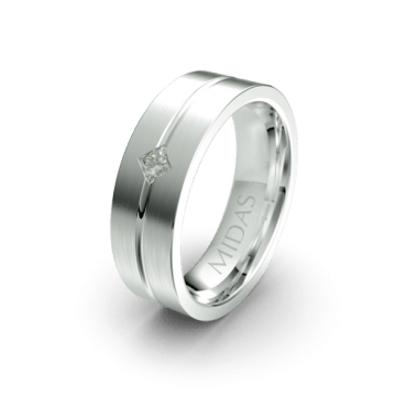 QF1143D Men's Wedding Band