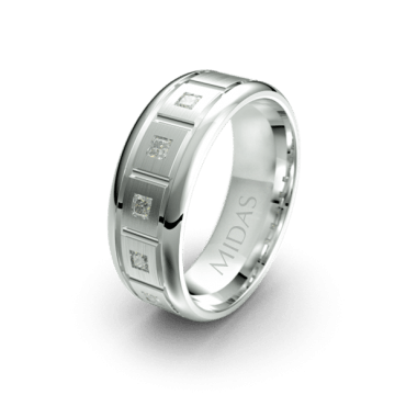 QF144D Men's Wedding Band