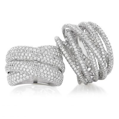 Pave Set Diamonds