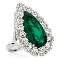 Radiant Emerald Ring