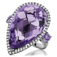 Striking Amethyst Ring