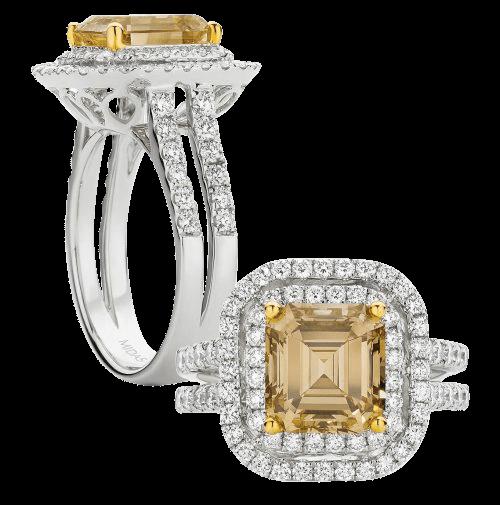 Stunning Yellow Diamond Rings Midas Jewellery