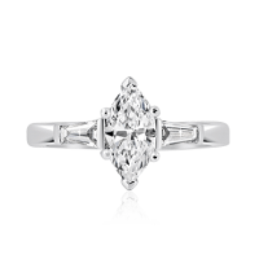 Marquise Diamond and Baguette Trilogy